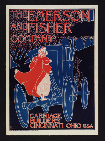 The Emerson and Fisher Company - Carriage Builders | Hazenplug, Frank