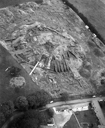 Oblique Aerial Photograph Taken By Leo Swan Of Knowth County Meath
