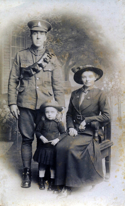 a british soldier 39 s family photographed in bradford the army children archive europeana. Black Bedroom Furniture Sets. Home Design Ideas