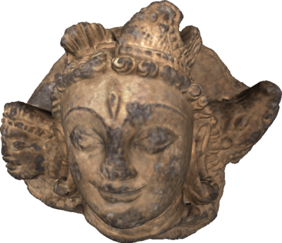 3D model of Indian stone carving