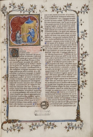 Aristoteles, Ethica [French version]. [ms. 9505-06]