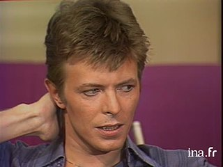 David Bowie chez Michel Drucker