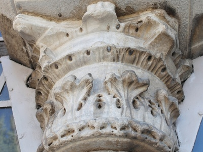 Church of the Holy Apostles - Column Capital #1 (IMAGE)