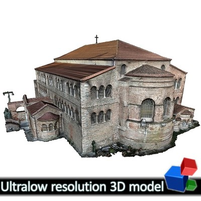 Church of Panagia Acheiropiitos (3D)