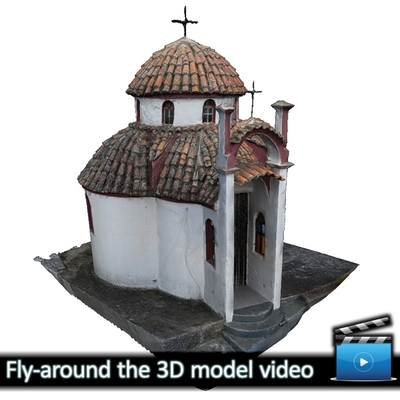 Monastery of Panagia Kalamou - Small chapel (VIDEO)