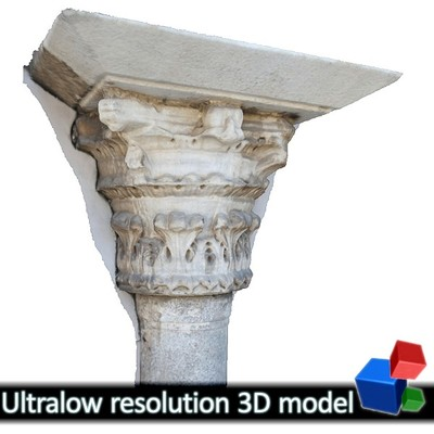 Church of the Holy Apostles - Column Capital #1 (3D)
