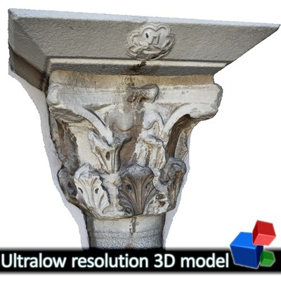 Church of the Holy Apostles - Column Capital #2 (3D)