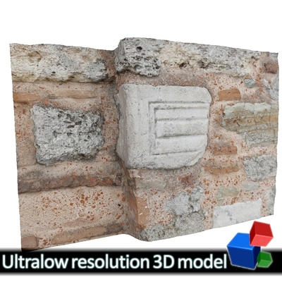 Monastery of Panagia Kosmosotira - Second use Marble (3D)