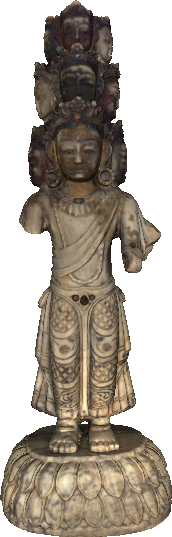 3D model of Indian religious sculpture