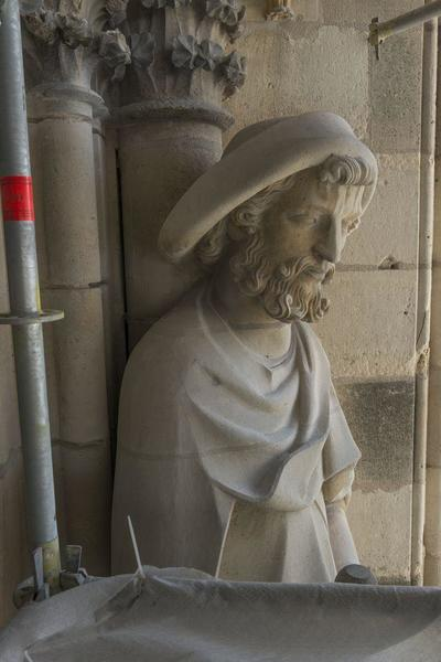 Images of the sculptures of Reims Cathedrale
