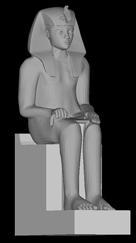 3d model of Amenhotep III