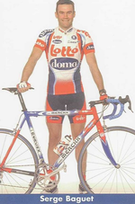 Lotto-Domo pro cycling team: Serge Baguet | Lotto-Domo