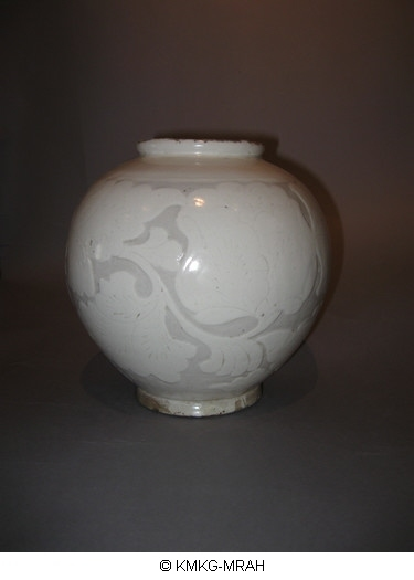 Jar decorated in sgraffito (Cizhou ware)