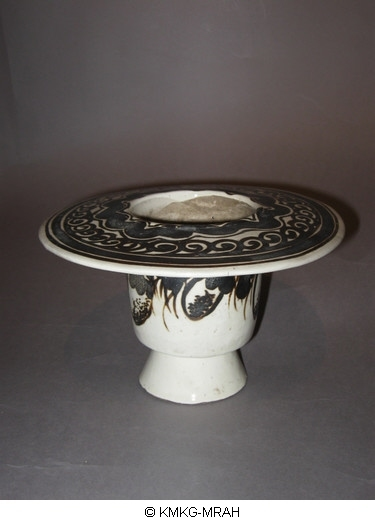 Cizhou ware with painted decoration