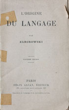 L'origine du language