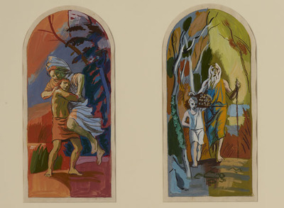Six Scenes from the Old Testament, Cain and Abel