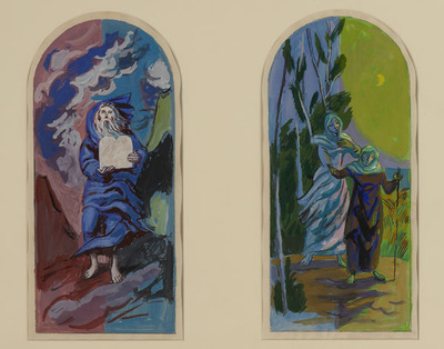 Six Scenes from the Old Testament, Moses on Mt Sinai