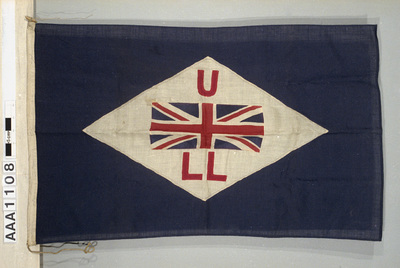 House flag, United Levant Lines, Antwerp