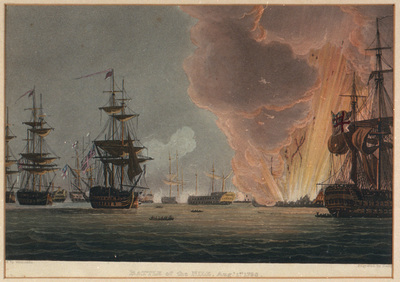 Battle of the Nile, Augt 1st 1798