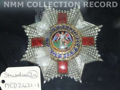 Badge and star: Order of St Michael and St George (2nd Class)