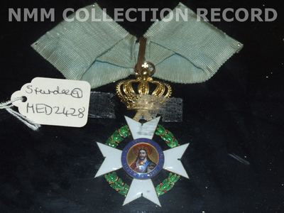 Badge: Order of the Redeemer, 3rd class