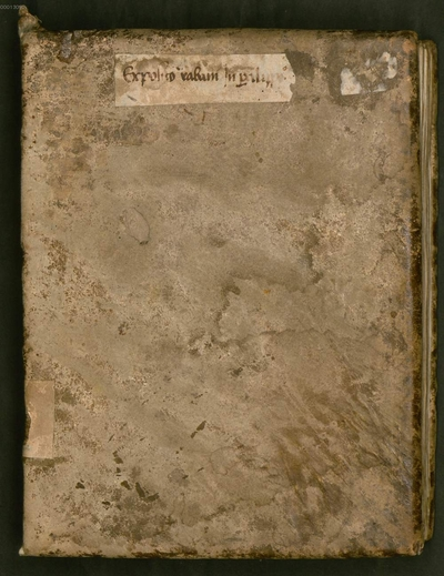 Commentarii in libros Paralipomenon - BSB Clm 6262