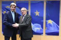 Visit of John Kerry, US Secretary of State, to the EC