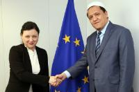 Visit of Hassen Chalghoumi, Founder and President of the Conference of Imams of France, to the EC