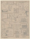 Charts and plans illustrating the topography and settlements of Louisiana and the progressive development of New-Orleans, collected and classified from original works / by Joseph Jones, ,... New Orléans, 1882
