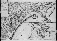 Plan of New Orleans, the capital of Louisiana, with the disposition of its quarters and canals as they have been traced by Mr. de la Tour in the year 1720