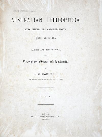 Australian lepidoptera with their transformations