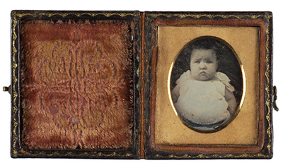 Attributed: Portrait of a baby