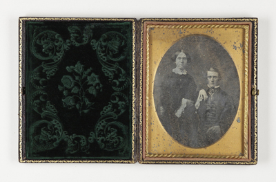 Portrait of a couple: woman and man