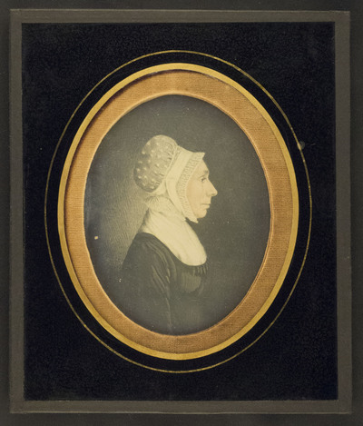 Portrait of an unknown women, after a drawing
