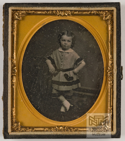 Portrait of a little girl. Creator unknown, undated.