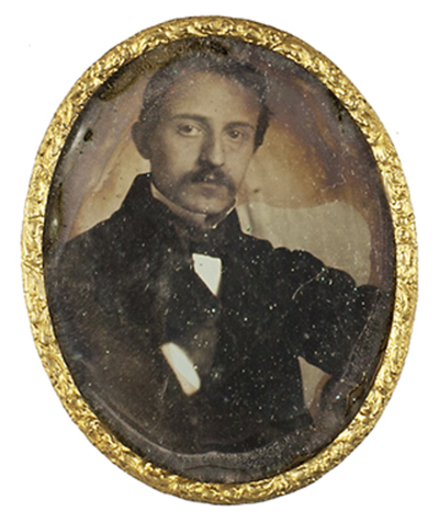 Attributed: Portrait of man