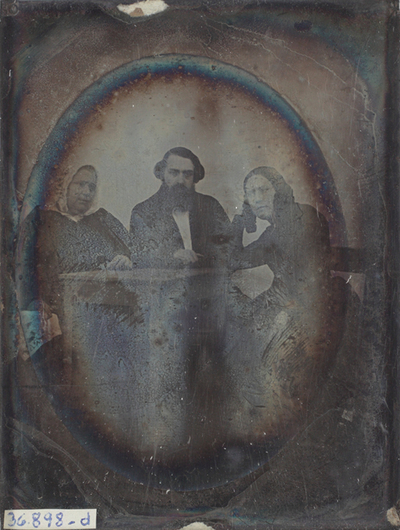 Atributted: Portrait of  3 men