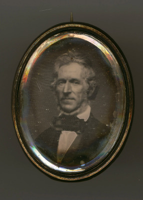 The daguerreotype is in a good state of conservation