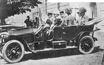 THE ASSASSINATION OF THE ARCHDUKE FRANZ FERDINAND, SARAJEVO, 1914