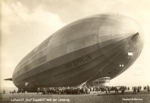 image of airship Graf Zeppelin