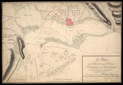 A Plan Of The Harbours And Towns Of Kingston And Port Royal In The Island Of Jamaica And Of Their Environs