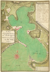 A plan of English Harbour, w.th the King's Yard and Carreeing Wharf, andc