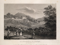 Vue De Gracehill Dans L'Isle D'Antigoa Aux Indes Occidentales