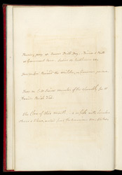 An Almanac For The Island Of Tobago- Diary January 1810 f.8
