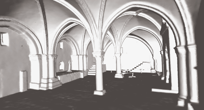 3D model of the Cenacle,