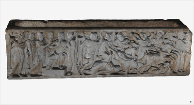 3D model of Sarcophagus of Pelope and Enomao