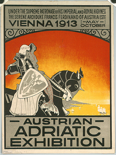 AUSTRIAN ADRIATIC EXHIBITION; VIENNA 1913
