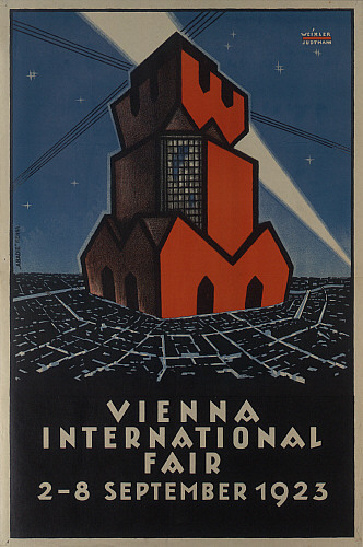 VIENNA INTERNATIONAL FAIR; 1923