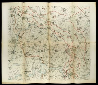Map of the Somme front