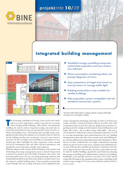 Integrated building management.